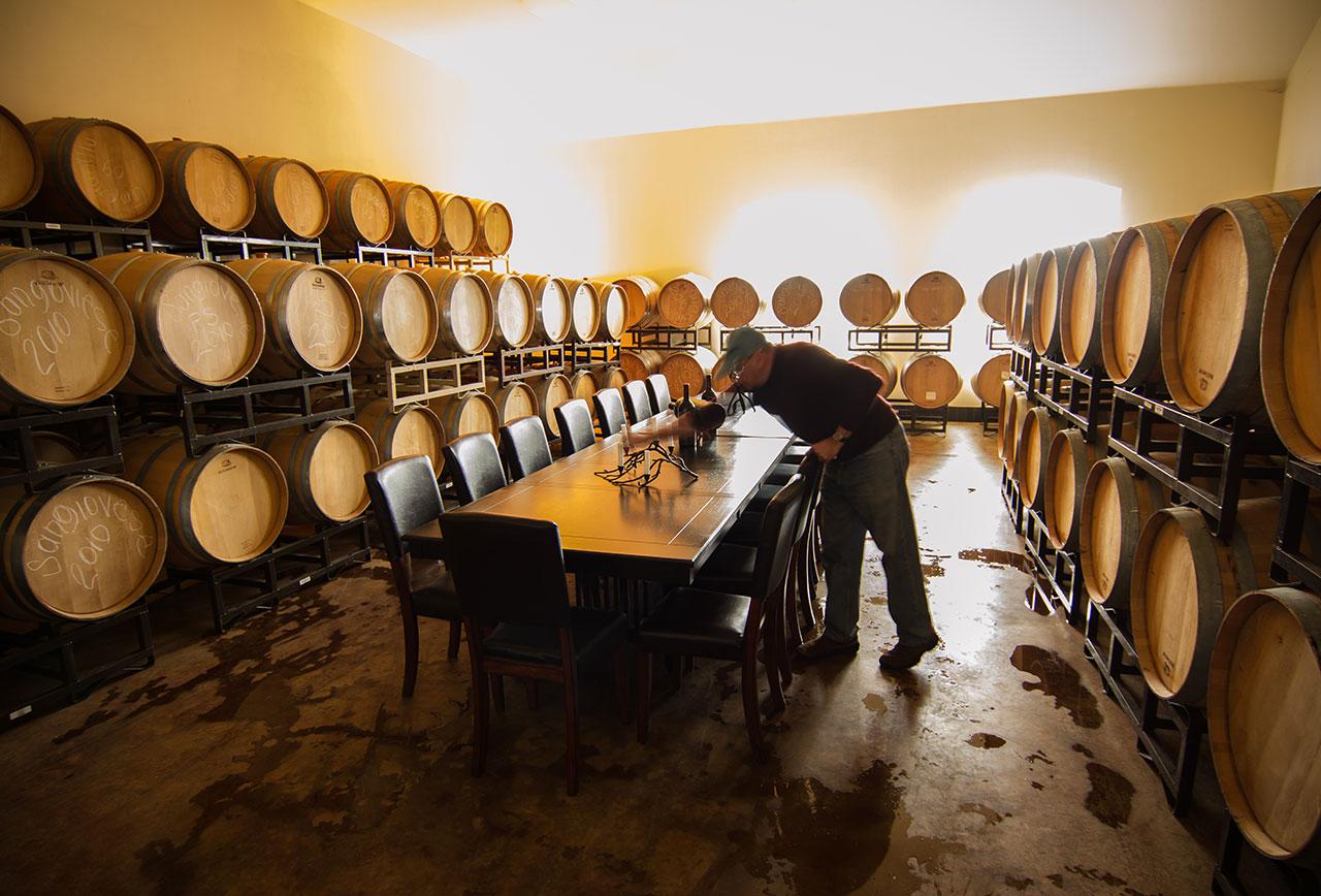 Barrel Room - Pic courtesy of Lash Photography