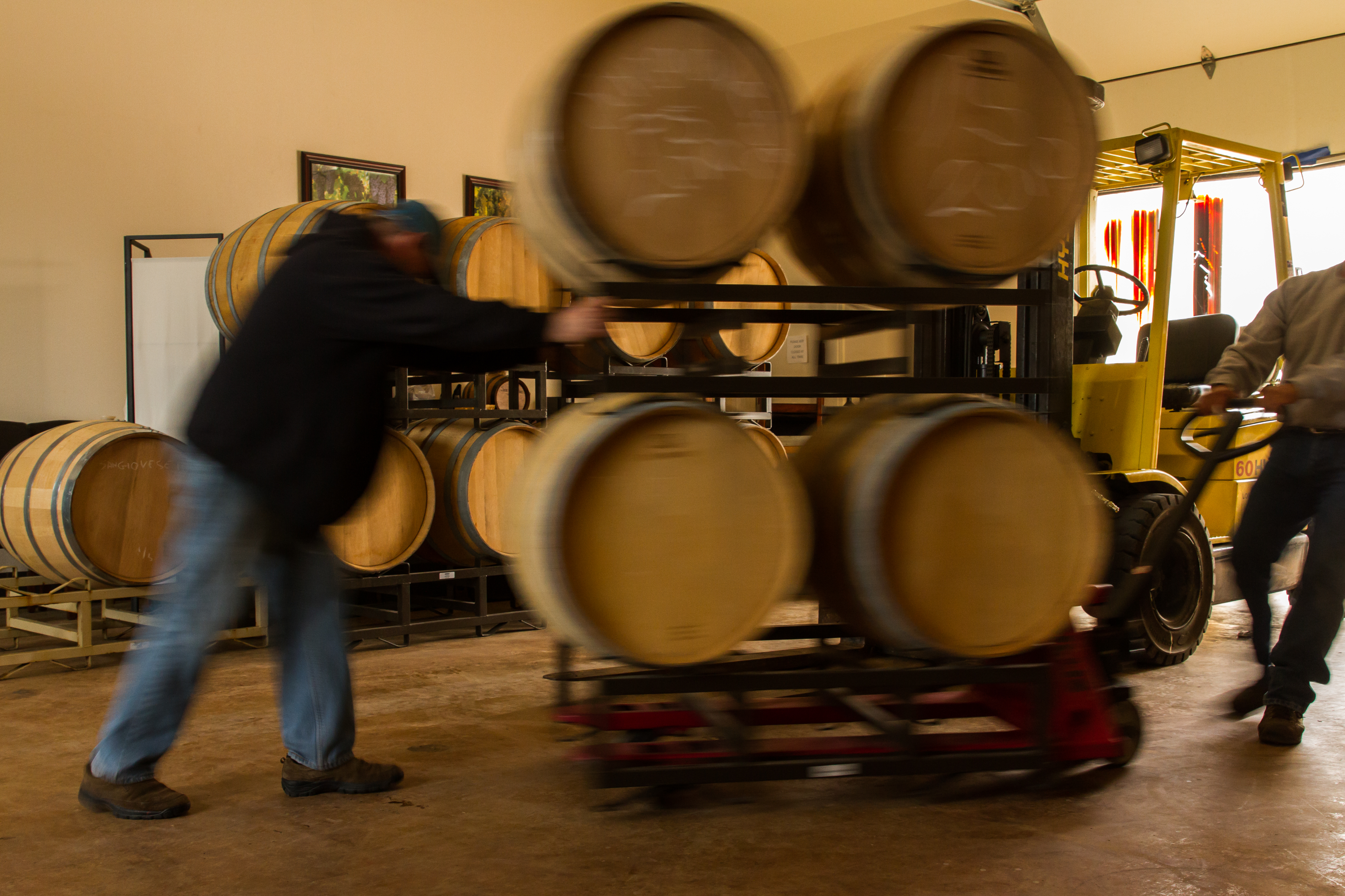 Barrels in Motion - Pic courtesy of Lash Photography