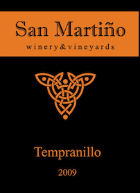 Product Image for Tempranillo 2009